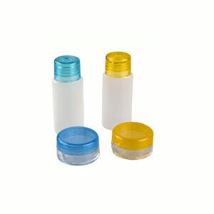 set de 4 frascos