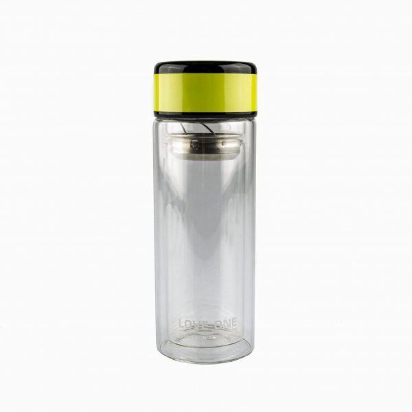 Botellas de vidrio infusores de té
