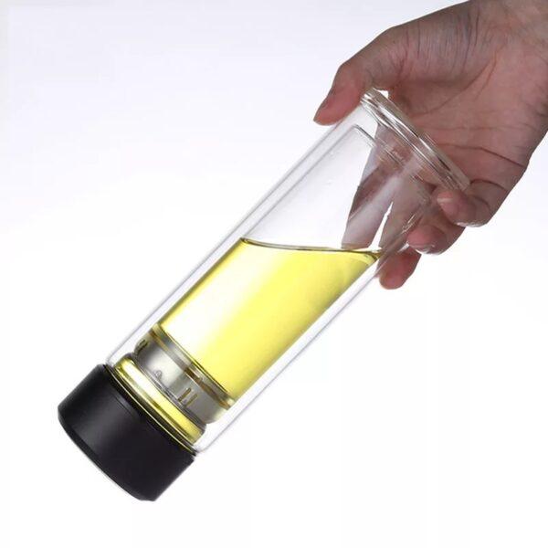 Botellas de vidrio para infusores