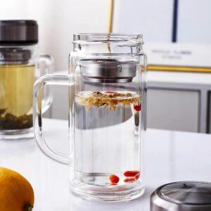 Botella infusor de té