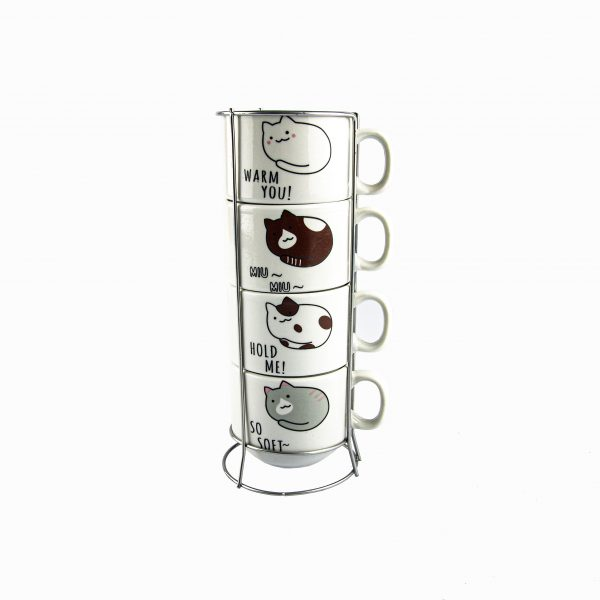Set de tazas de tiernos diseños