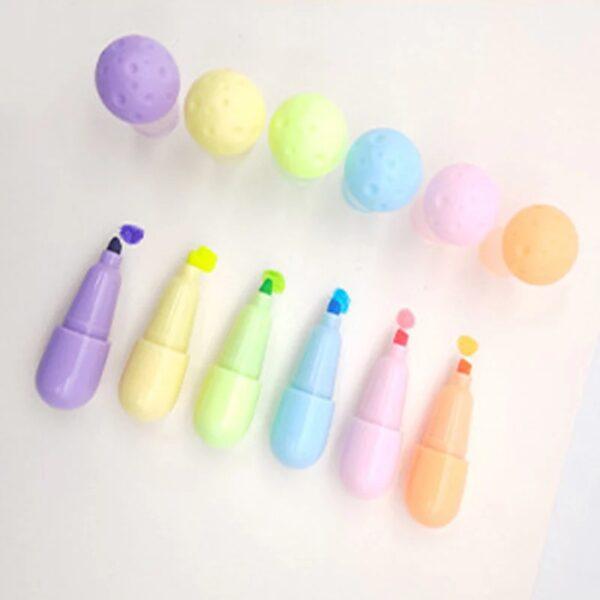 Set de destacadores de colores
