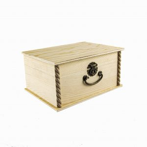 Baúl decorativo de madera